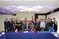 Assisting in the development of international cooperation (meetings in Mongolia)