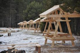 Eco-camp in the Sorozhya bay