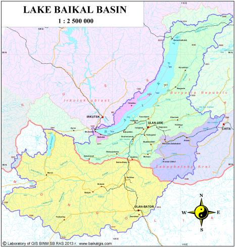 Ecological Atlas of the Baikal Basin