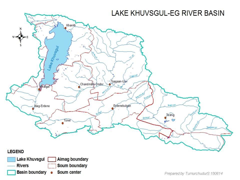 Eg sub-basin watershed management plan (Mongolia)