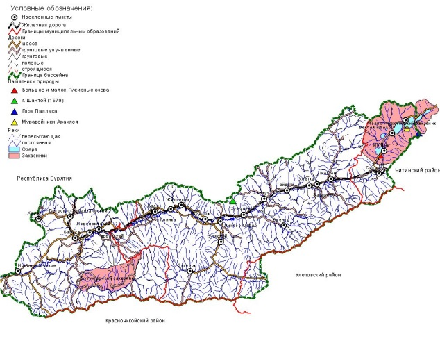 Khilok sub-basin watershed management plan (Zabaikalsky Krai, Russia)