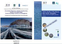 Publication of reports on ground waters and hot spots of the Kharaa River basin (Mongolia)