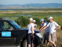 Байгаль нуурын төслийн үйл ажиллагаа. Баргуужин гол. Орос орон. Байгаль нуурын төслийн экспедиц. - зураг И. Мирошников (800x600).jpg