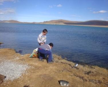 Эрэг орчмыг цэвэрлэх кампанит ажил 2013 онд Монголд