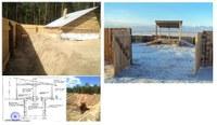 Курумкан дүүрэгт малын сэг зэм устгах байгууламжийн барилга