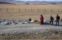 «Очистка берега оз. Хубсугул и установка водоохранной зоны возле деревни Хатгал»
