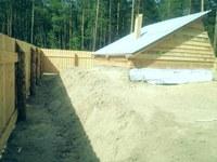Строительство скотомогильника в Курумканском районе