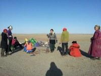 Встреча, посвященная озеру Ugii и очистка побережья озера