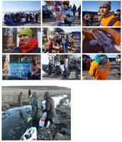 Кампании по очистке побережья озера Байкал и Хубсугул.