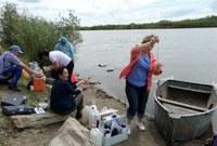 Международные экспедиционные работы по организации санитарно-эпидемиологического мониторинга трансграничных водных объектов на территории Республики Бурятия и Монголии