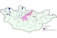 План управления под-бассейном рек Орхон/Селенга (Монголия)